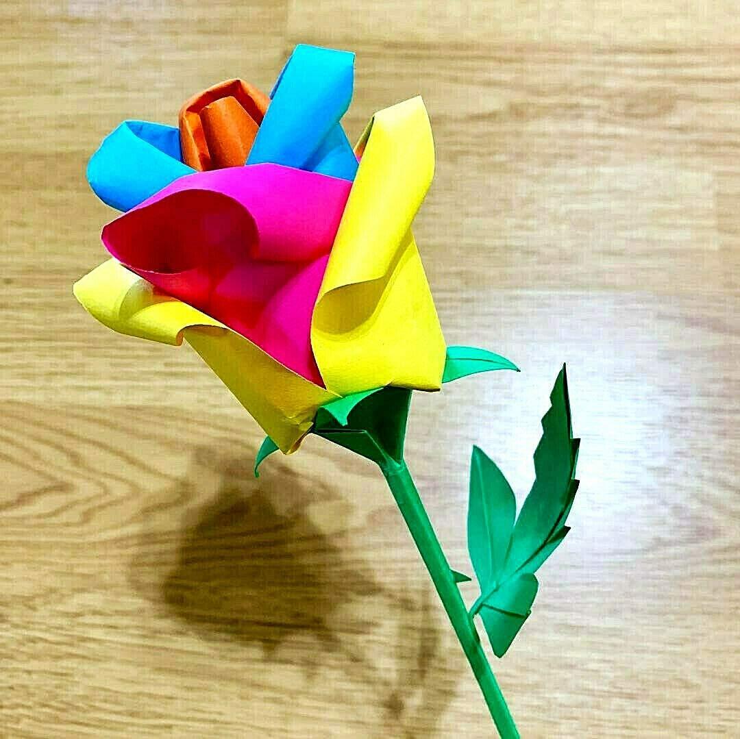 Rose dream Origami [Special Origami Paper Included ... | 1079x1080