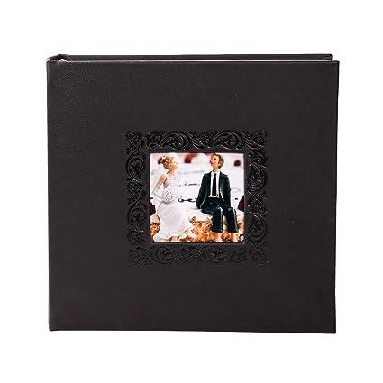 Amazoncom Facraft Wedding Photo Album Blackfigure 200 4x6 Home