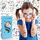 Unicorn Temporary Tattoos - Waterproof Unicorn Stickers for Kids,Unicorn Party Supplies,Unicorn Tattoos Best Birthday Gifts for Girls and Boys,Over 1000 Tattoos Stickers (Tattoo/Nail Stickers)