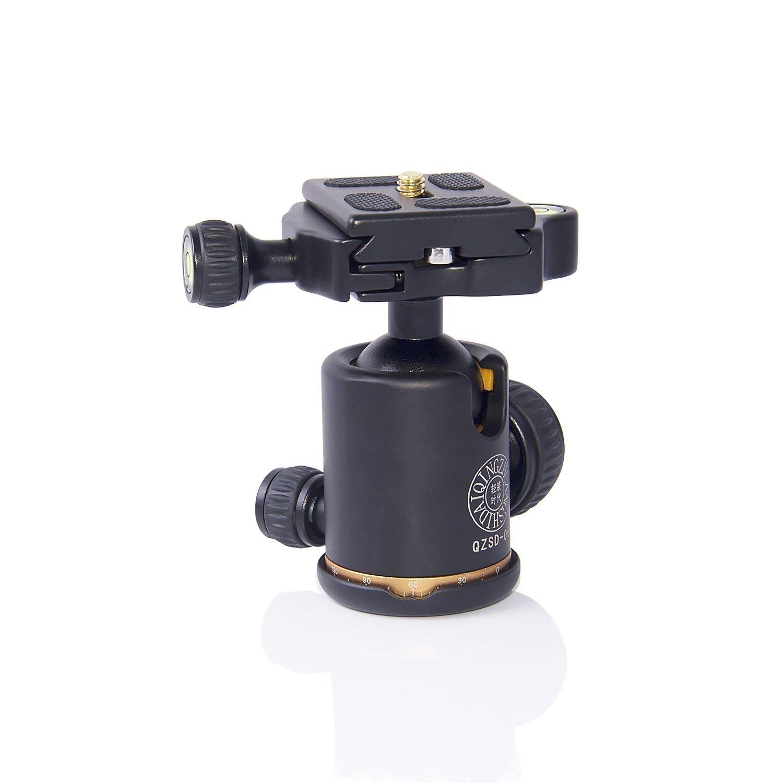 Morjava MJ-06 Aluminum Camera Tripod Ball Head Camera Tripod Max Load to 15kg by Morjava