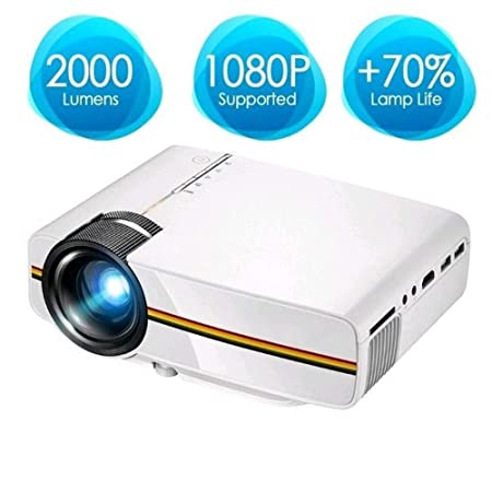 ZDZHU Mini proyector de Pico - Video Proyector LED de Cine en casa ...