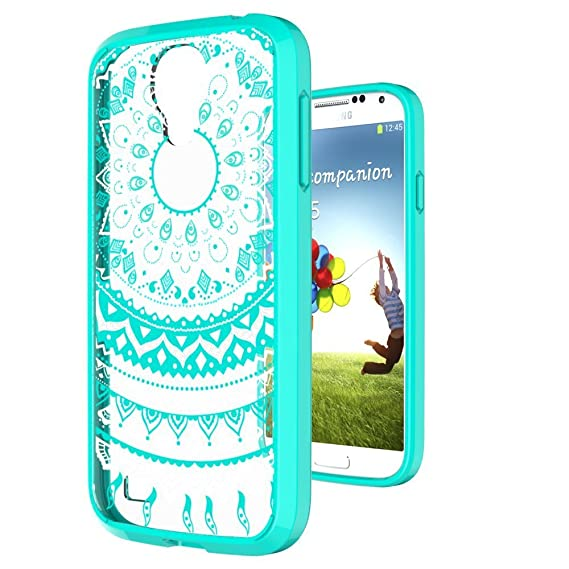 buy popular 9d241 5f2ad Amazon.com: S4 Case,Galaxy S4 Case Clear Phone Cover TPU with HD ...