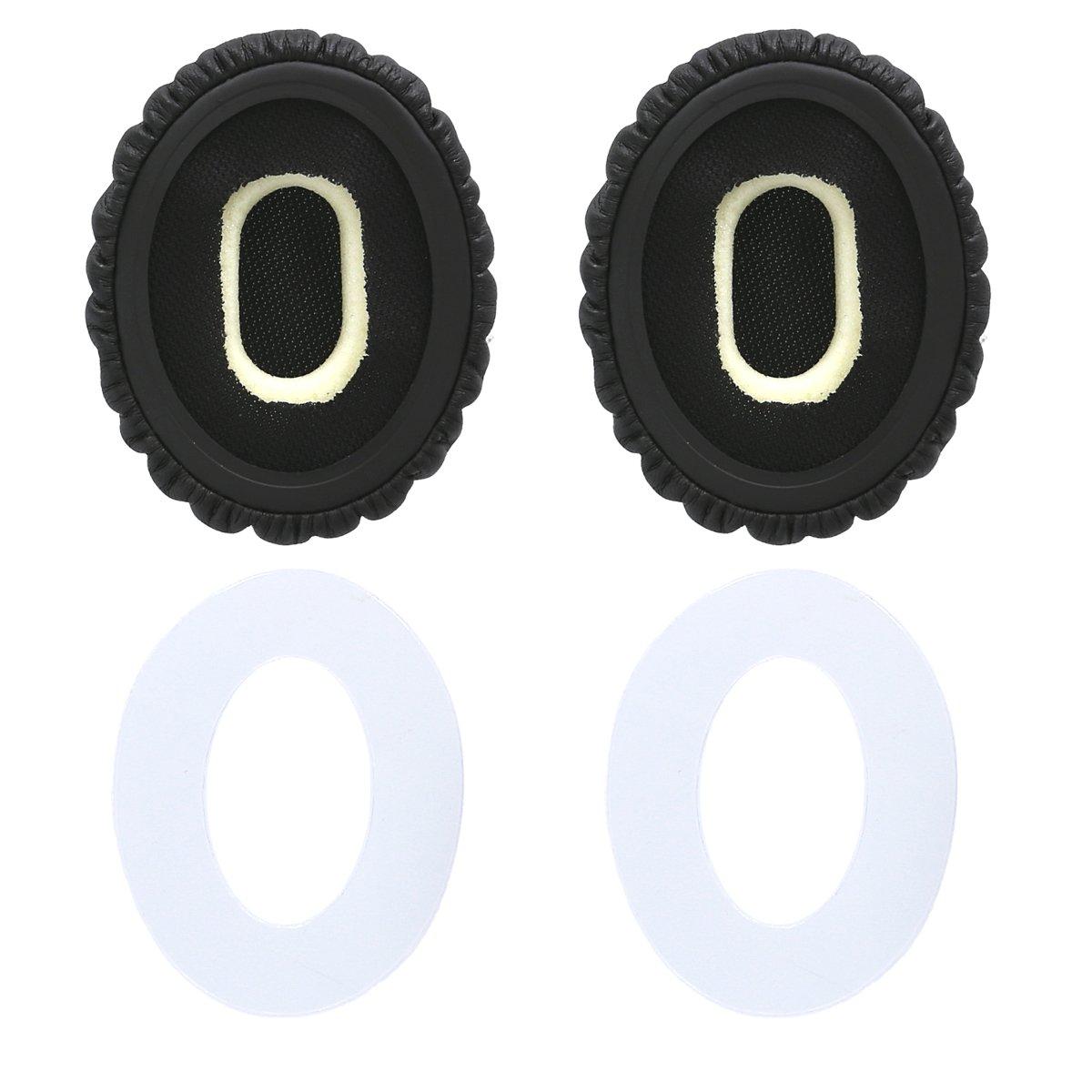 OE2 OE2 kwmobile 2x Auricolari di ricambio per Bose On-Ear Wireless Cuscinetti sostitutivi cuffie Over Ear in similpelle per Headphones On-Ear Wireless SoundTrue OE nero SoundTrue OE