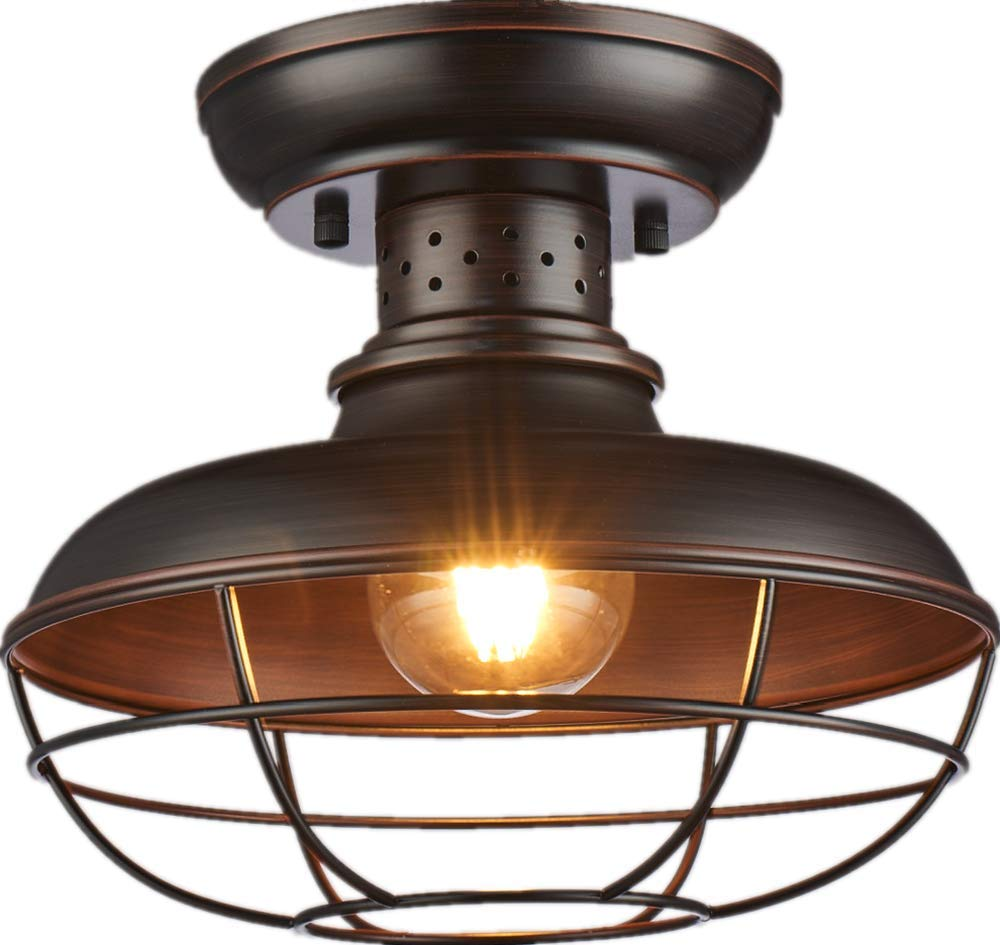 SHUPREGU Lighting Semi Flush Mount Ceiling Light Fixture