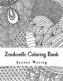 Zendoodle Coloring Book: 12 Zendoodles to Color
