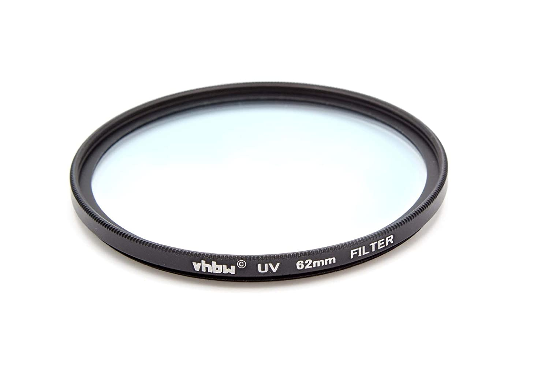 Filtre UV Universel vhbw 40.5mm pour Appareil Photo Canon Casio Pentax Olympus Panasonic Sony Nikon Ricoh Sigma Tamron Samsung Fujifilm Agfa etc.