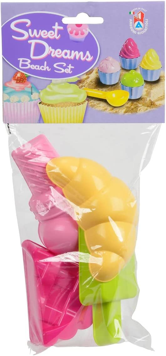 Androni Giocattoli S.R.L 6-Piece, Sand Sweet Moulds