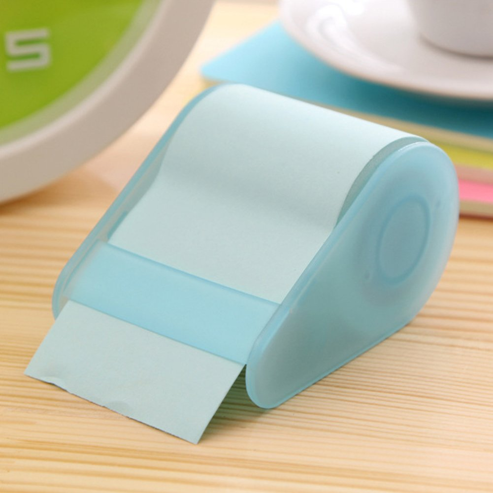 Sedensy Roller notes Sticky note roll, Sticky note memo rotolo carta da lettere autoadesive Bookmarker