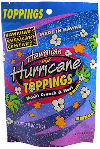 - Hawaiian Hurricane Mochi Crunch Nori Popcorn Topping, 2.5 Ounce