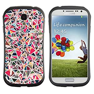 Suave TPU GEL Carcasa Funda Silicona Blando Estuche Caso de protección (para) Samsung Galaxy S4 I9500 / CECELL Phone case / / Tile Stone Pink Pattern Marble /