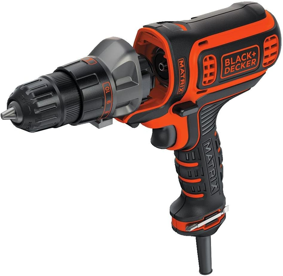 BLACK DECKER Electric Drill, 3 8-Inch, 4-Amp BDEDMT