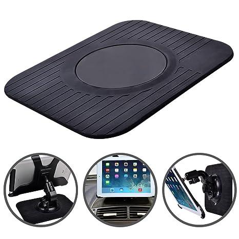 Reelva coche GPS TomTom GPS Dash Junta de goma antiadherente alfombrilla de soporte para portátil delgado