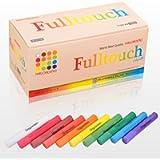 HAGOROMO Fulltouch Color Chalk 1 Box [72 Pcs/10 Color Mix]