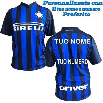 L.C.Sport Srl Camiseta Inter Personalizada F.C. Réplica Internacional 2018/2019 PS 27411: Amazon.es: Deportes y aire libre