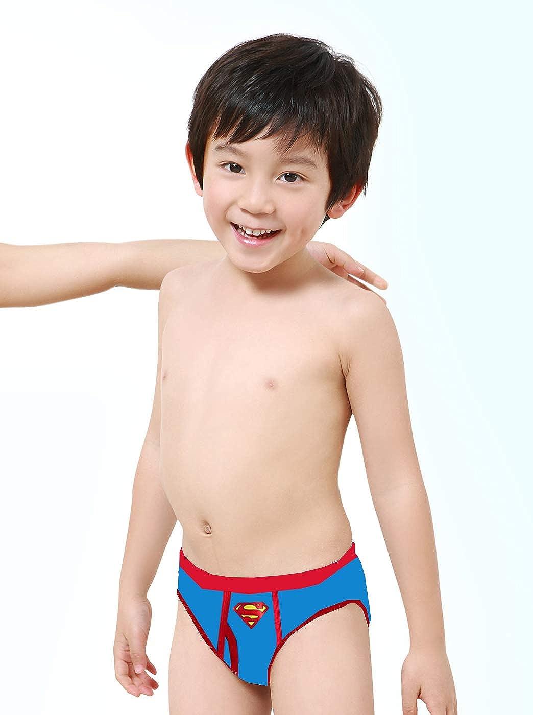 Justice League Little Boys Hero Suits 3-Pack Briefs