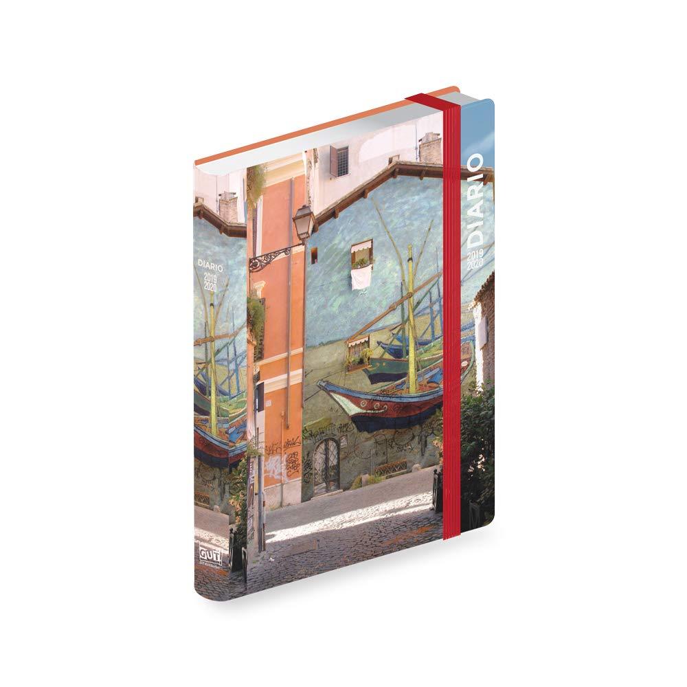 Diario datato 12 mesi cm 10,8x16 kaos classic//Waterhouse