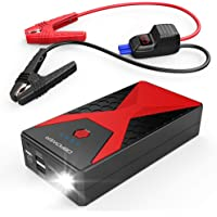 $69 » DBPOWER 1200A 12000mAh Portable Car Jump Starter (up to 6.5L Gas/5.2L Diesel Engines),…