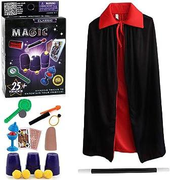 Harxin Juego de Magia,Magic Show,Trucos Magia Set Infantil Magos Caja Creativo Aprendizaje para Niños (Juegos de Magia): Amazon.es: Juguetes y juegos