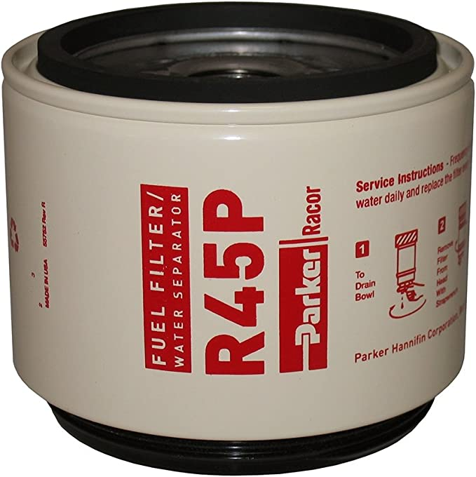 Racor R45P 30 Micron Replacement Fuel Filter//Water Separator Element