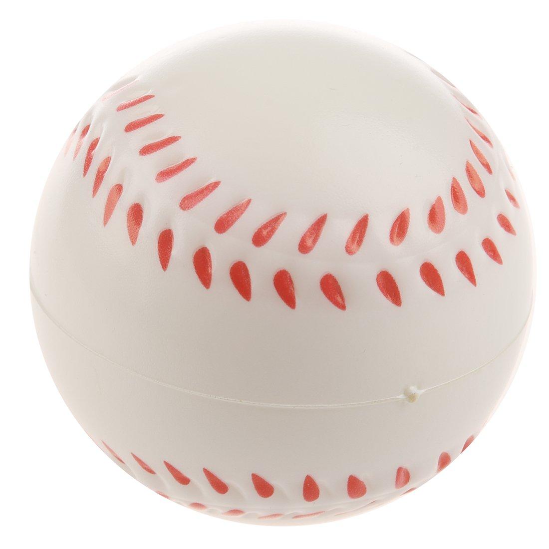 WOVELOT White Baseball Stress Ball