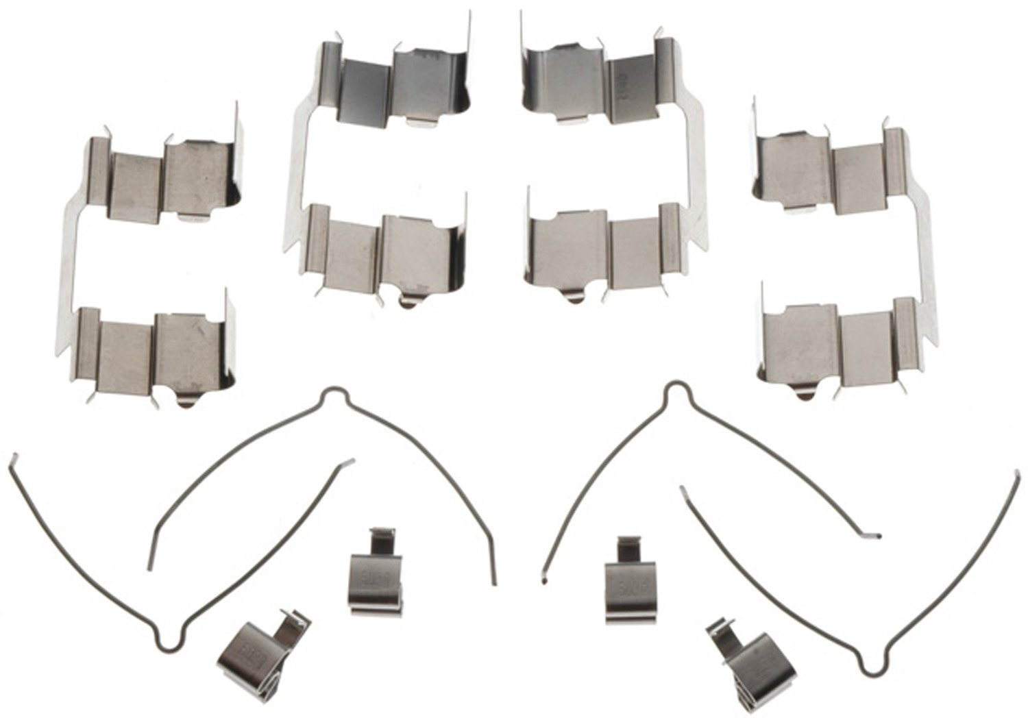 ACDelco 18K888X Professional Front Disc Brake Caliper Hardware Kit with Clips