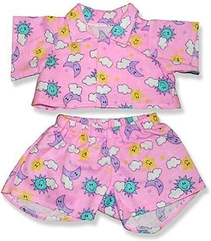 """Teddy Bear PRINCESS BATHROBE CLOTHES Fit 14/""""-18/"""" Build-a-bear !!NEW!!"""