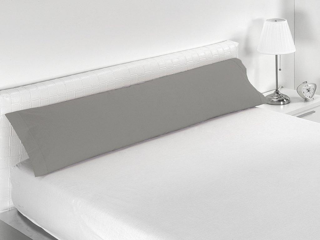 Sabanalia Combina - Funda de almohada (disponible en varios tamaños y colores), Cama 75 - 95 x 45, Gris: Amazon.es: Hogar