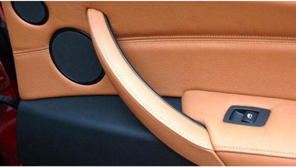 316 KESOTO Inner Door Panel Handle /& Pull Trim Cover Left Side for 2004-12 BMW E90 318 E91 335 Beige 320,325 330