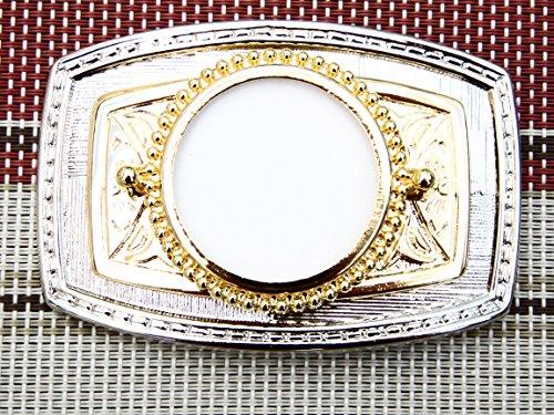 U.S. Silver Dollar Belt Buckle 3-3/8