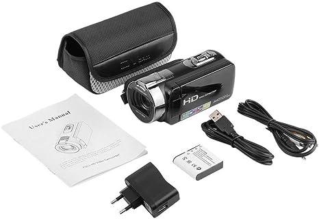 Cámara de vídeo Digital DVC Full HD 1920 x 1080P máx. 24 ...