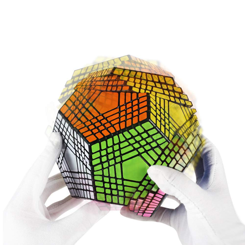ZMH 9X9x9 Schwarz 12 5 Rubik Es Cube, Schwierige Und Seltsame Rubik Es Cube Form