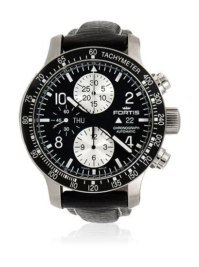 Fortis Reloj con movimiento automático suizo Man Pilot B-42 Stratoliner Preto 43 mm: Amazon.es: Relojes