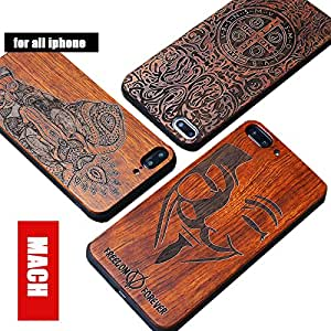 For Iphone 6s / iphone plus 8 plus / iphone 7 plus wooden cell phone protection