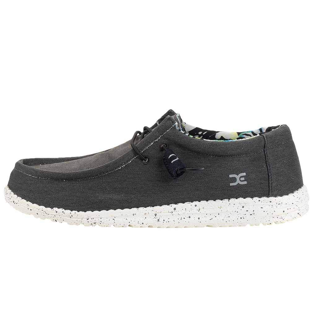 Hey Dude Mens Wally Stretch Loafer Shoes