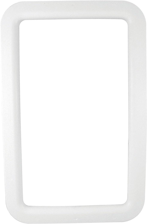 VALTERRA A77006 RV Trailer Camper Hardware Entrance Door Window Frame Exterior White