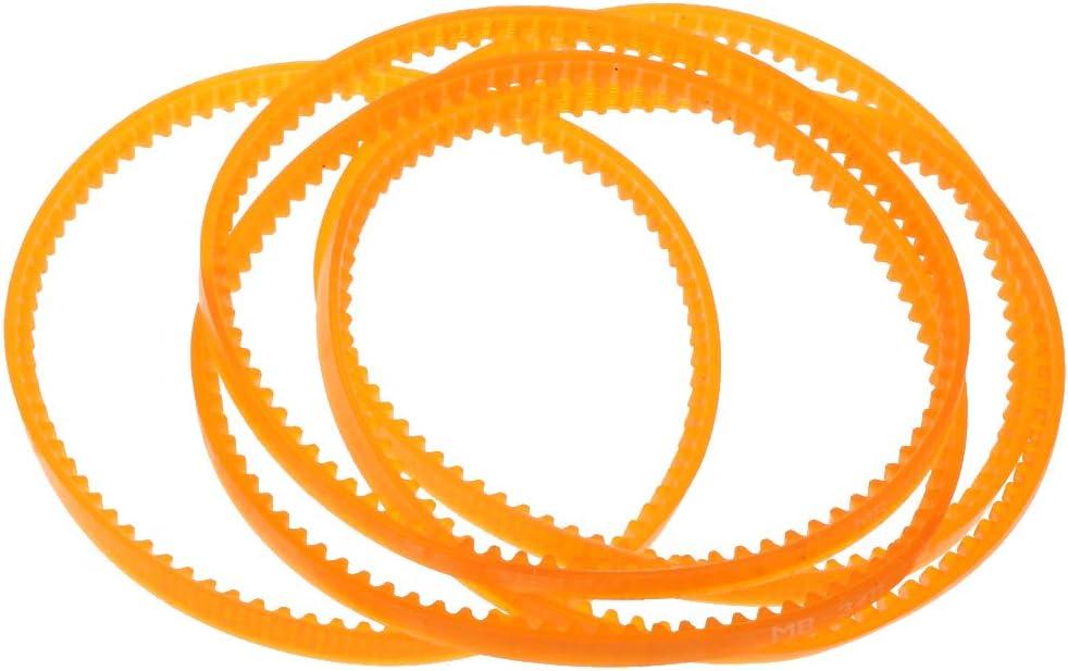 IPOTCH 5 Unids Cintura de Pedal Correa de Motor Piezas de Máquina de Coser Accesorios - 340mm