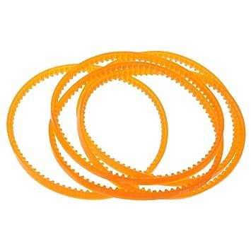 IPOTCH 5 Unids Cintura de Pedal Correa de Motor Piezas de Máquina de Coser Accesorios - 340mm: Amazon.es: Hogar