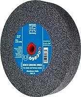 """PFERD 61778 Bench Grinding Wheel, Aluminum Oxide, 12"""" Diameter, 2"""" Thick, 1-1/2"""" Arbor Hole, 24 Grit, 2070 Maximum rpm"""