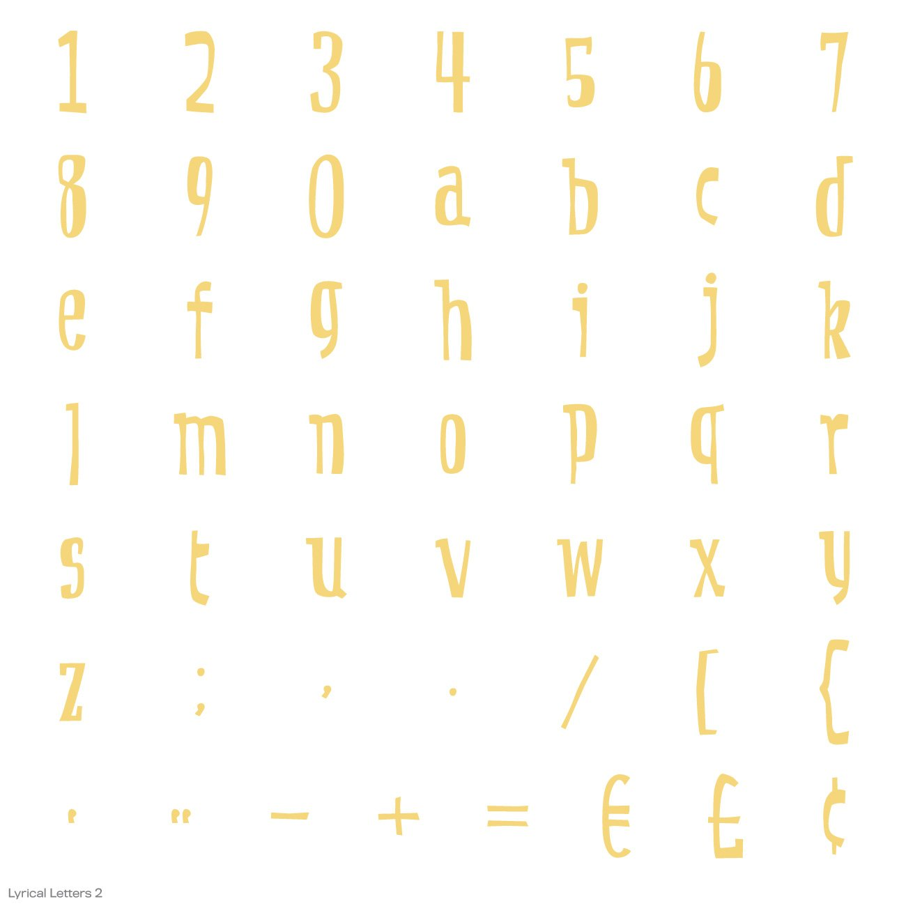 Cricut Lyrical Letters 2 Cartridge by Cricut (Image #10)