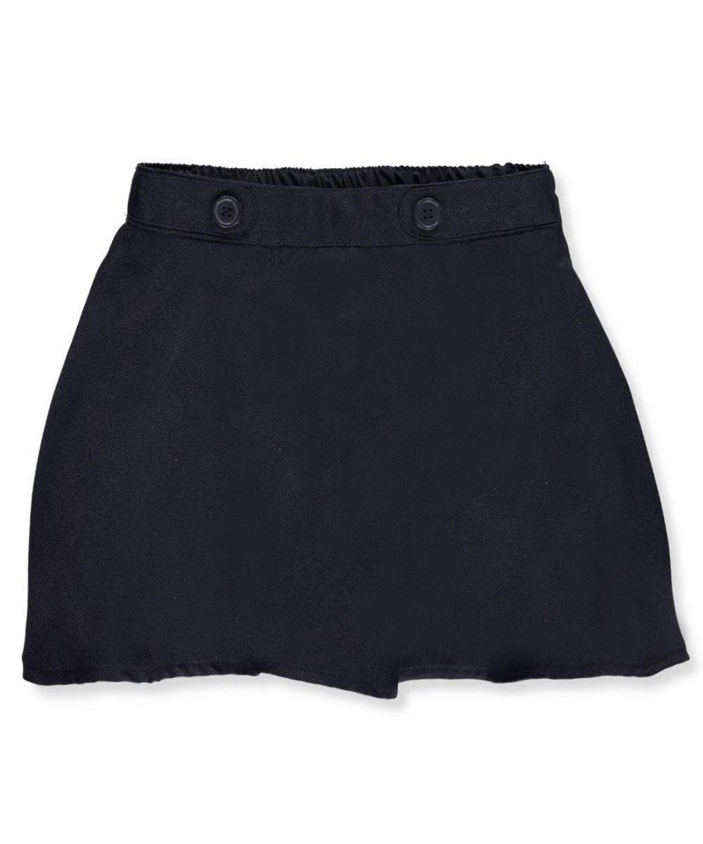 Nautica Little Girls'Button Tab Waist Scooter Skirt 4