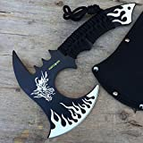11-Hunt-Down-White-Dragon-Axe-Outdoor-Hunting-Camping-Survival-Steel-Axe-with-Holt-Multi-Tool-Key-Chain