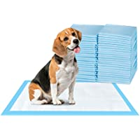 ScratchMe Super-Absorbent Waterproof Dog and Puppy Pet Training Pad, Housebreaking Pet Pad, 100-Count Extra Small-Size…