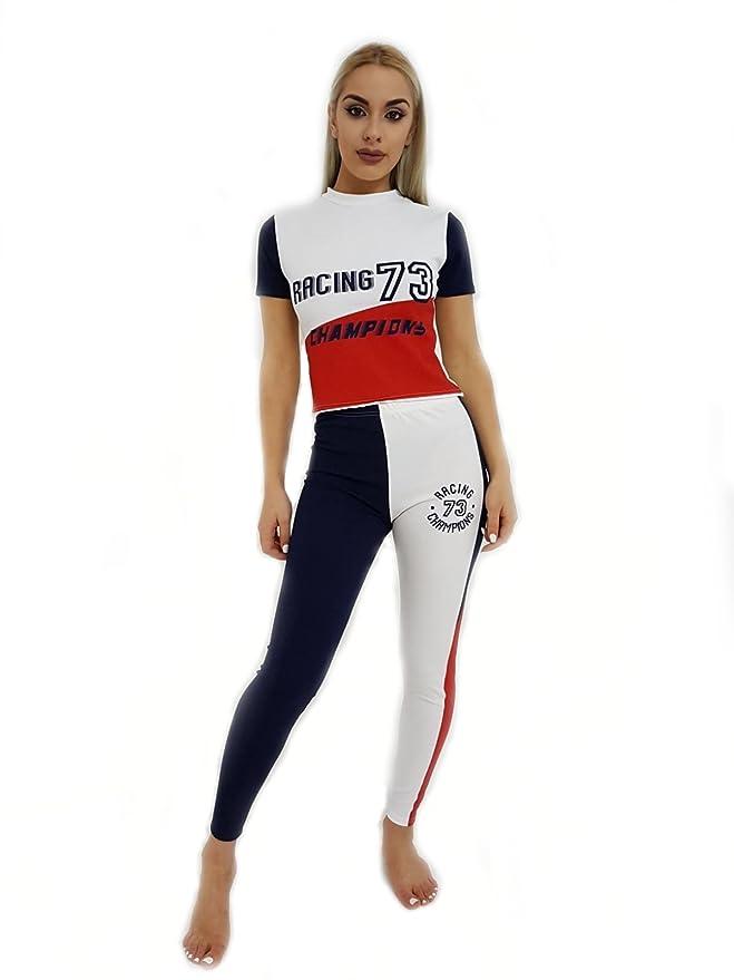 Chándal para Mujer Champions Racing 73, Rojo, Azul Marino y Blanco ...