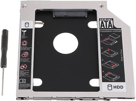 IPOTCH 7mm 9.0mm SATA SSD HDD Caddy Cubierta Drive Frame Estuche ...