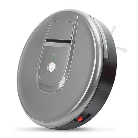 Robot aspirador, automático, modelo compacto, cepillo inteligente para alfombras, con sensor de