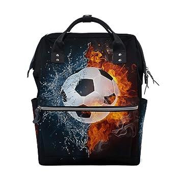 Balón de fútbol en Bolsa de Viaje Multifuncional con Mochila para ...