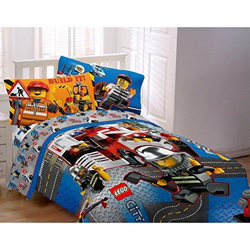 Lego 86 Inch City Comforter Twin