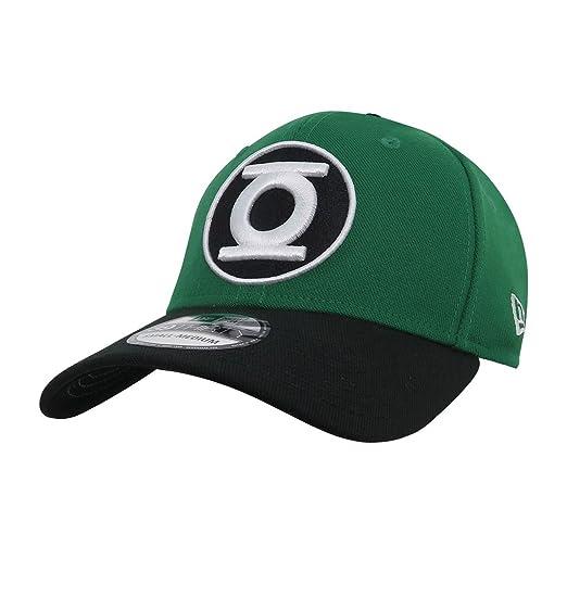 Green Lantern Hal Jordan Symbol 39Thirty Fitted Hat at Amazon Men s ... bc4e348e481