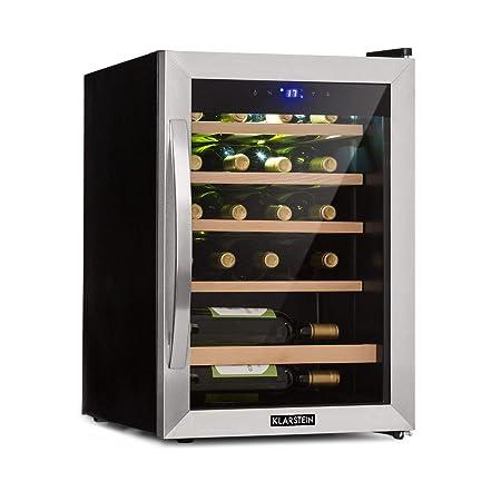 Klarstein Vinamour 19 Nevera para vinos con puerta acristalada ...