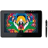 Wacom Cintiq Pro 13 DTH - Pantalla Creativa interactiva (Full HD, con Lápiz, 13 Pulgadas) Negro Matte